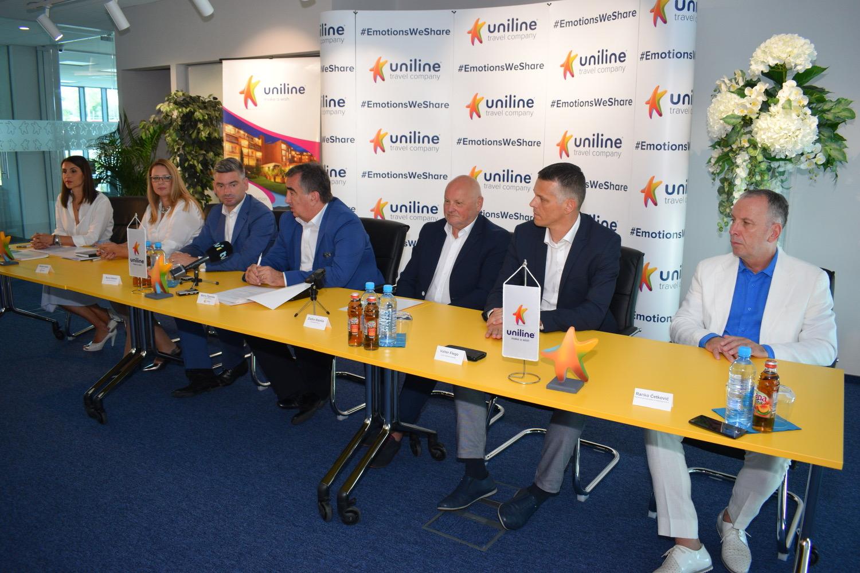 Potpisvanje ugovora o poslovnoj suradnji između Unilinea i HOO-a