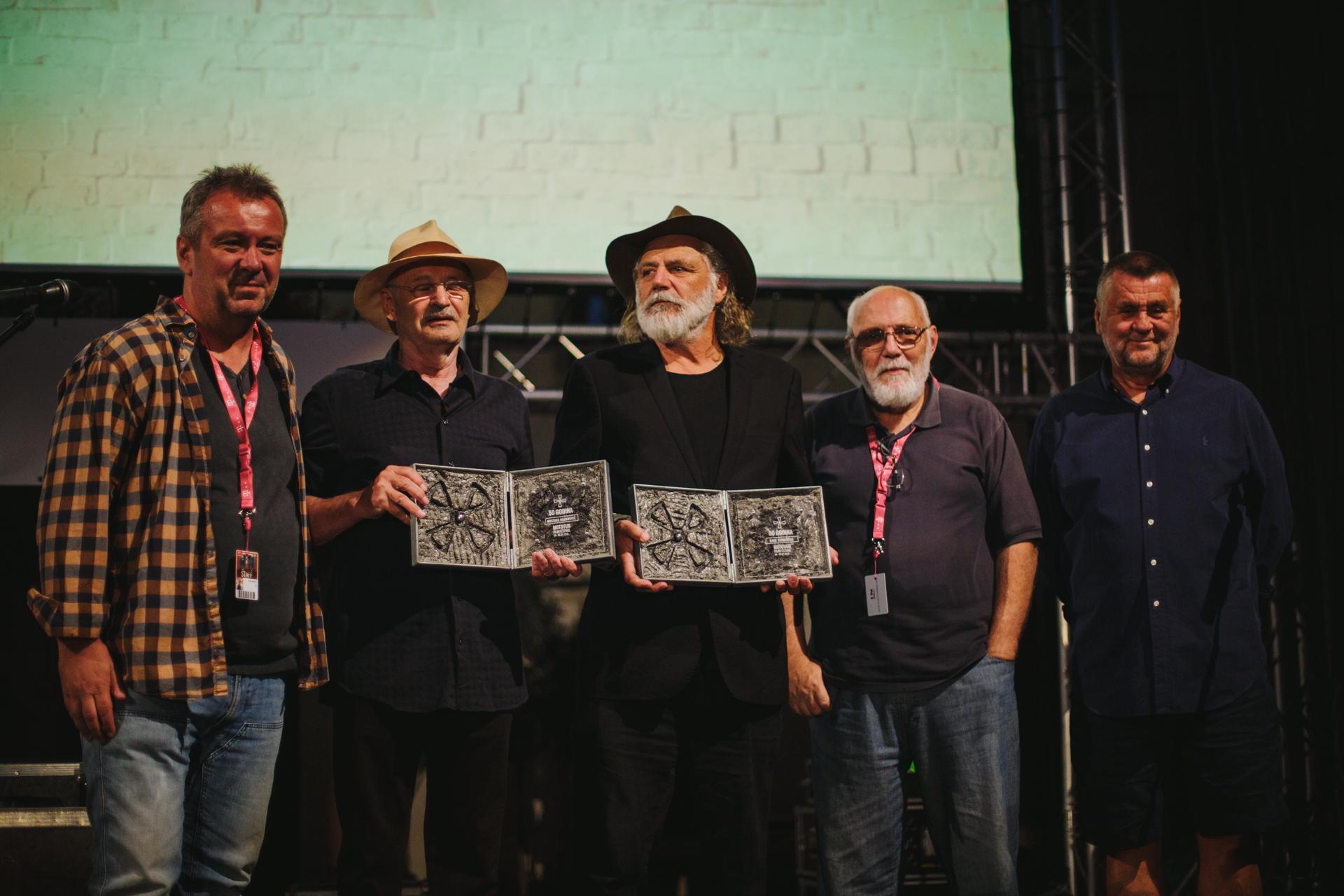 Igor Mirković, Mustafa Nadarević, Rade Šerbedžija, Nenad Puhovski i Rajko Grlić