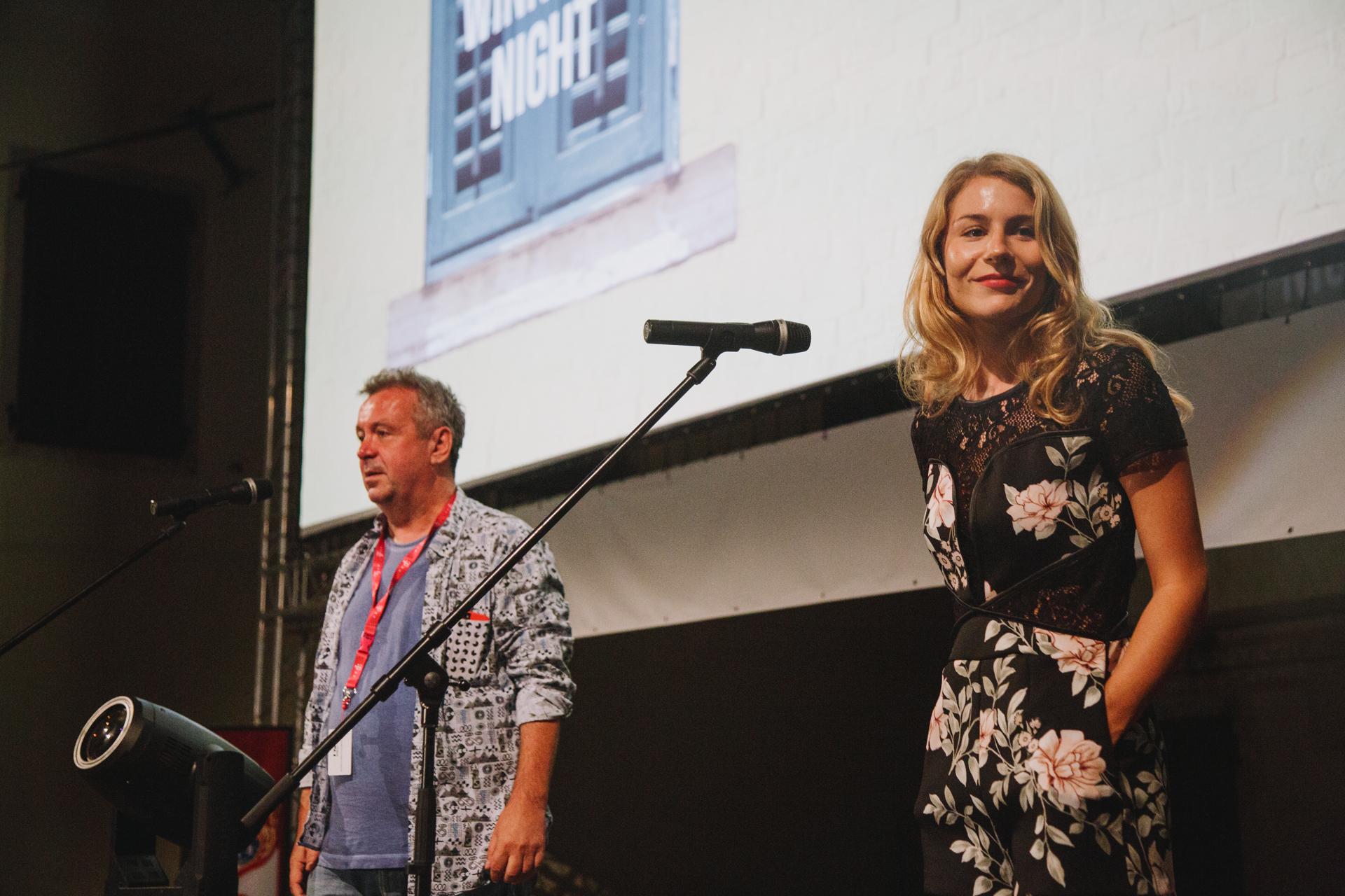 Igor Mirković i Tihana Lazović na zatvaranju festivala