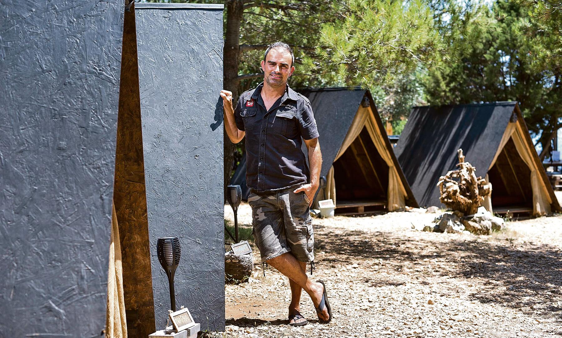 Vlasnik kampa Didier van Bellinghen