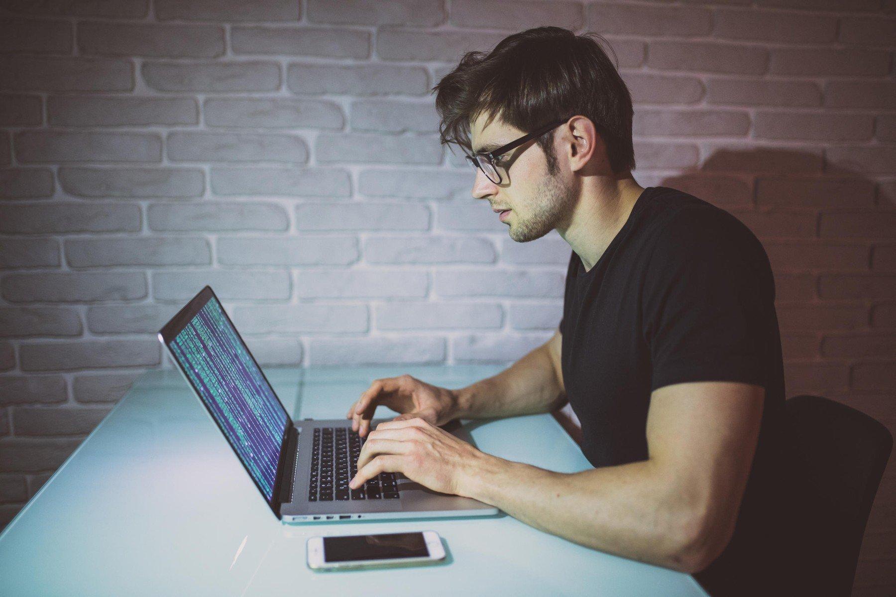 Programer, ilustracija