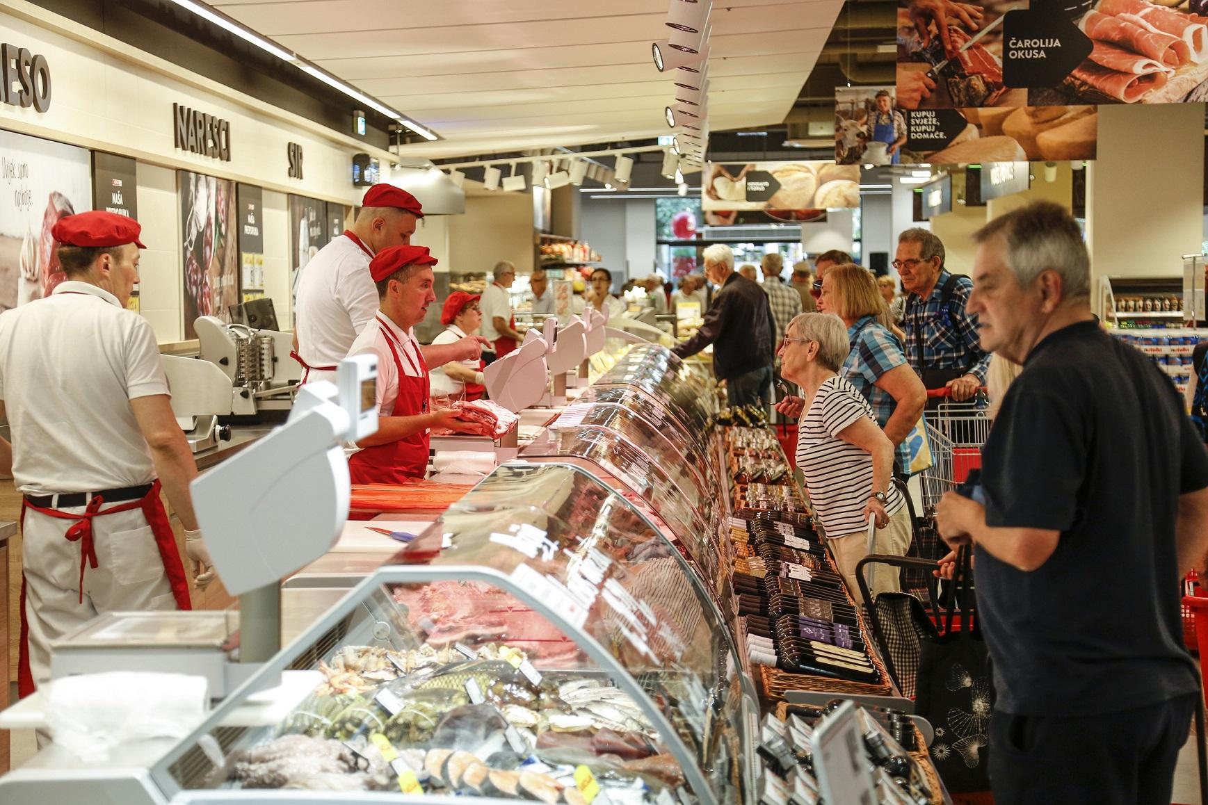 SPAR supermarket na zagrebačkoj Knežiji