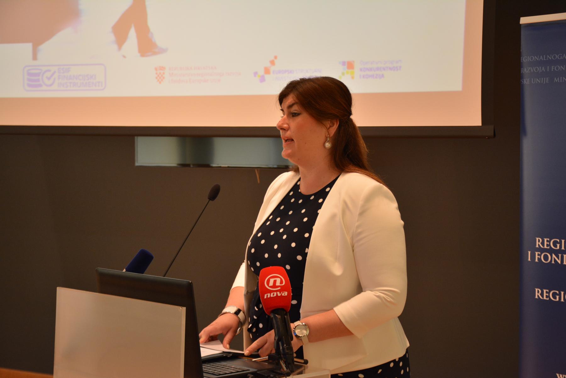 Gabrijela Žalac, ministrica regionalnog razvoja i fondova Europske unije