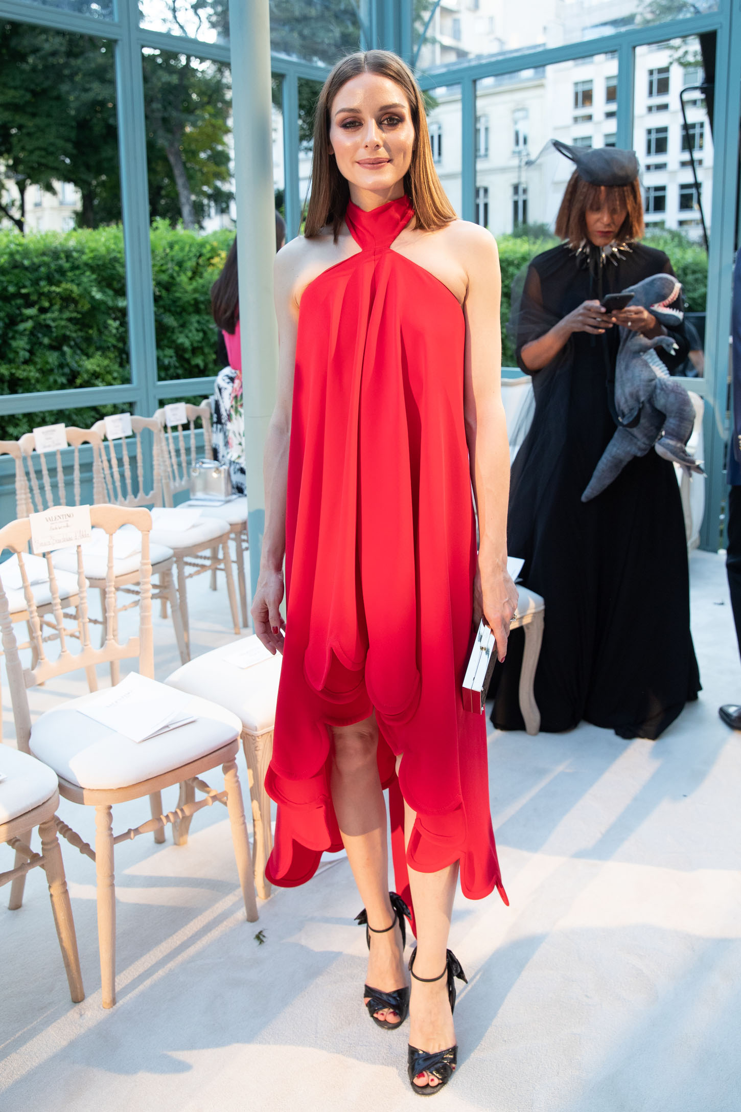 PARIS, FRANCE - JULY 04:  Olivia Palermo attends the Valentino Haute Couture Fall Winter 2018/2019 show as part of Paris Fashion Week on July 4, 2018 in Paris, France.  (Photo by Vittorio Zunino Celotto/Getty Images)