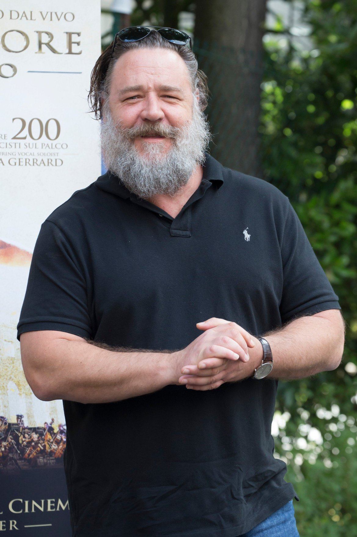 Russell Crowe    The gladiator in concert Presentation. Film with a live Orchestra Roma_Italy 05-06-2018, Image: 373885813, License: Rights-managed, Restrictions: , Model Release: no, Credit line: Profimedia, SGP