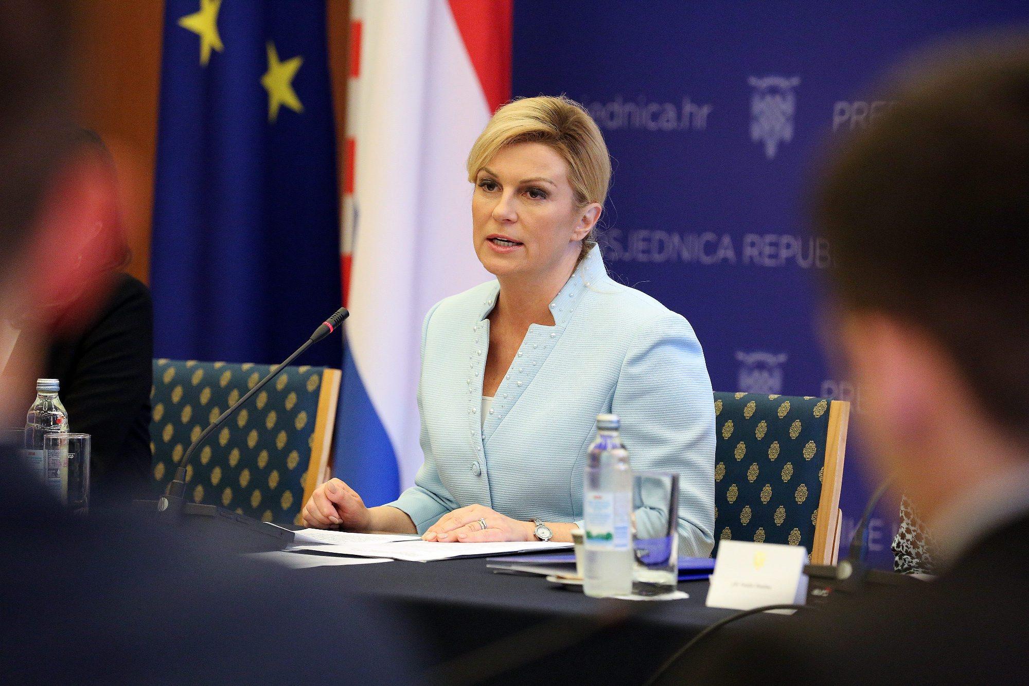 Predsjednica Kolinda Grabar-Kitarović