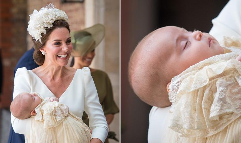 Vojvotkinja Kate s princom Louisom
