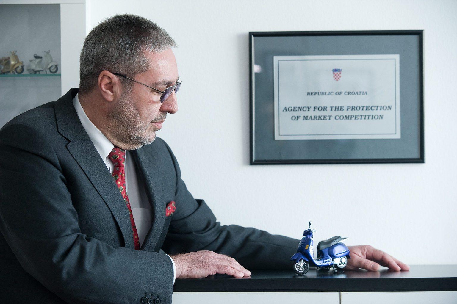 Mladen Cerovac, predsjednik vijeća Agencije za zaštitu tržišnog natjecanja - AZTN