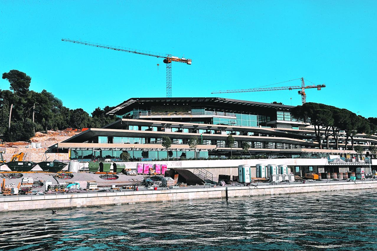 Marina Rovinj u izgradnji