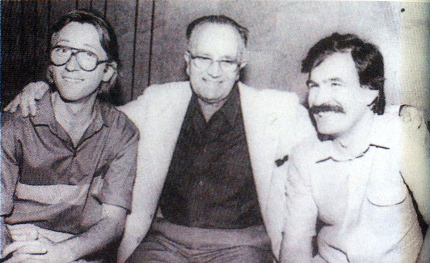 Oliver Dragojević, Tomislav Zuppa i Zdenko Runjić u Splitu 1980.