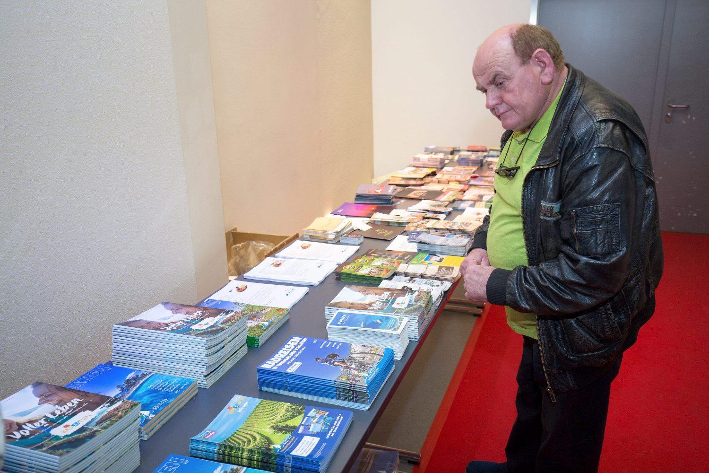 Minhen, 290317.  U organizaciji turisticke agencije iz Minhena Riva tours odrzana je prezentacija Slavonije kao turisticke destinacije za turiste iz Njemacke.  Na fotografiji: predstavljanje Slavonije gradjanima Minhena. Foto: Vlado Kos / CROPIX