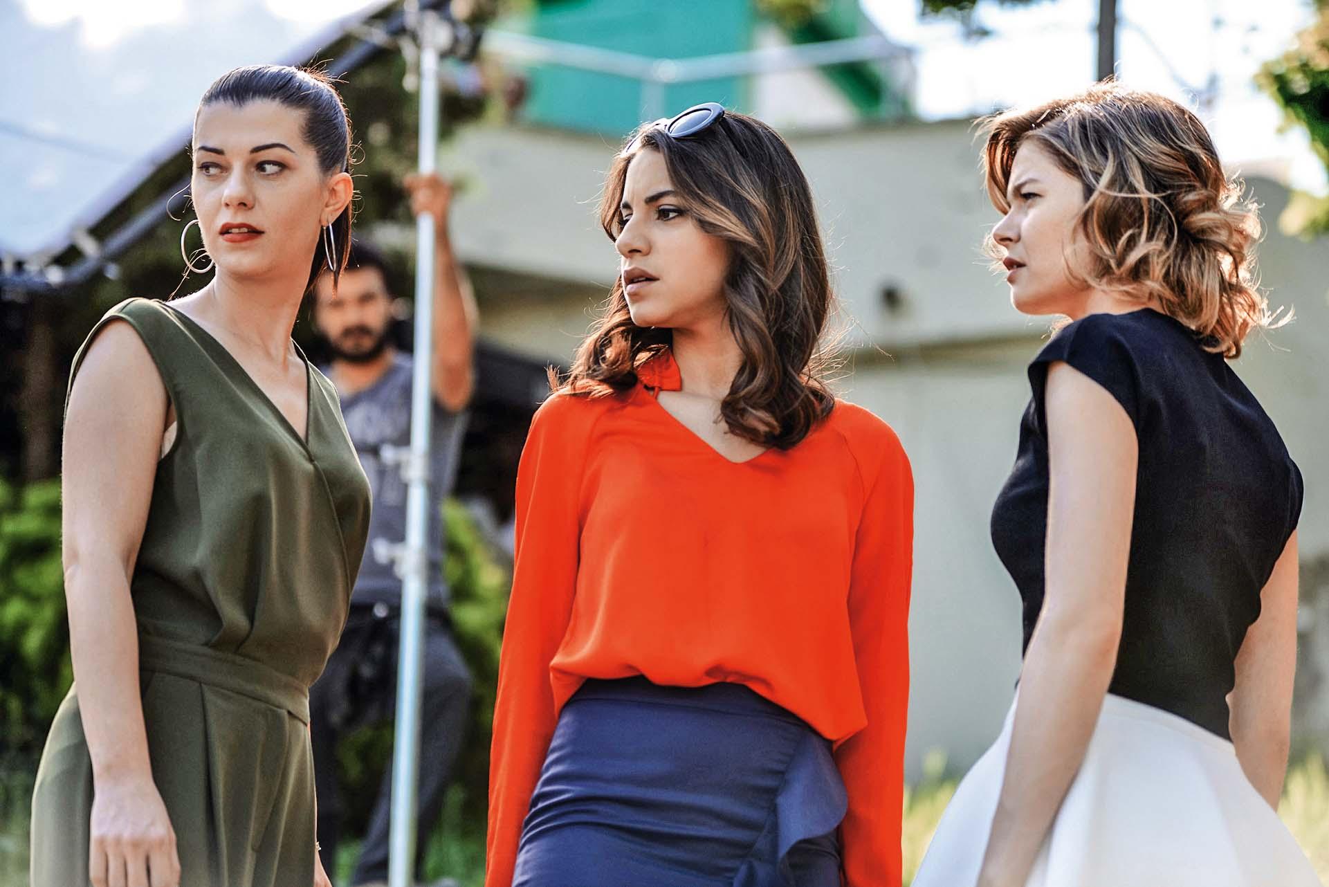 """U """"Djevojci sa sela"""" pojavila se nedavno u ulozi lukave Nurgul, uz Almilu Bagriacik i Burcu Biricik"""
