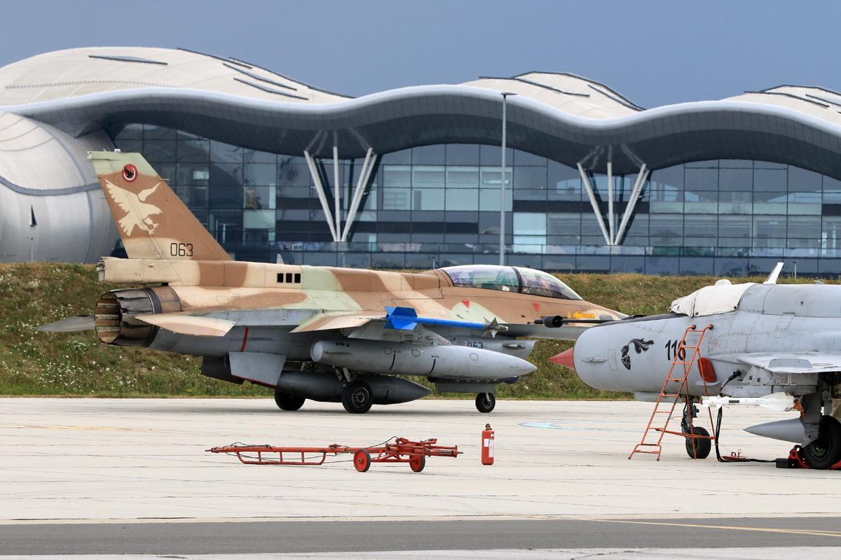 Izraelski avioni F-16 prvi put u Hrvatskoj