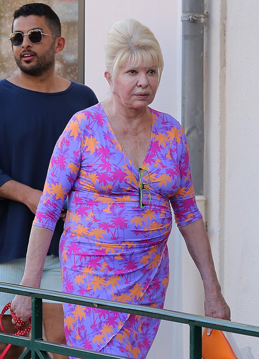Ivana Trump on holiday in St Tropez, France on august 18th 2018, Image: 383076207, License: Rights-managed, Restrictions: , Model Release: no, Credit line: Profimedia, KCS Presse