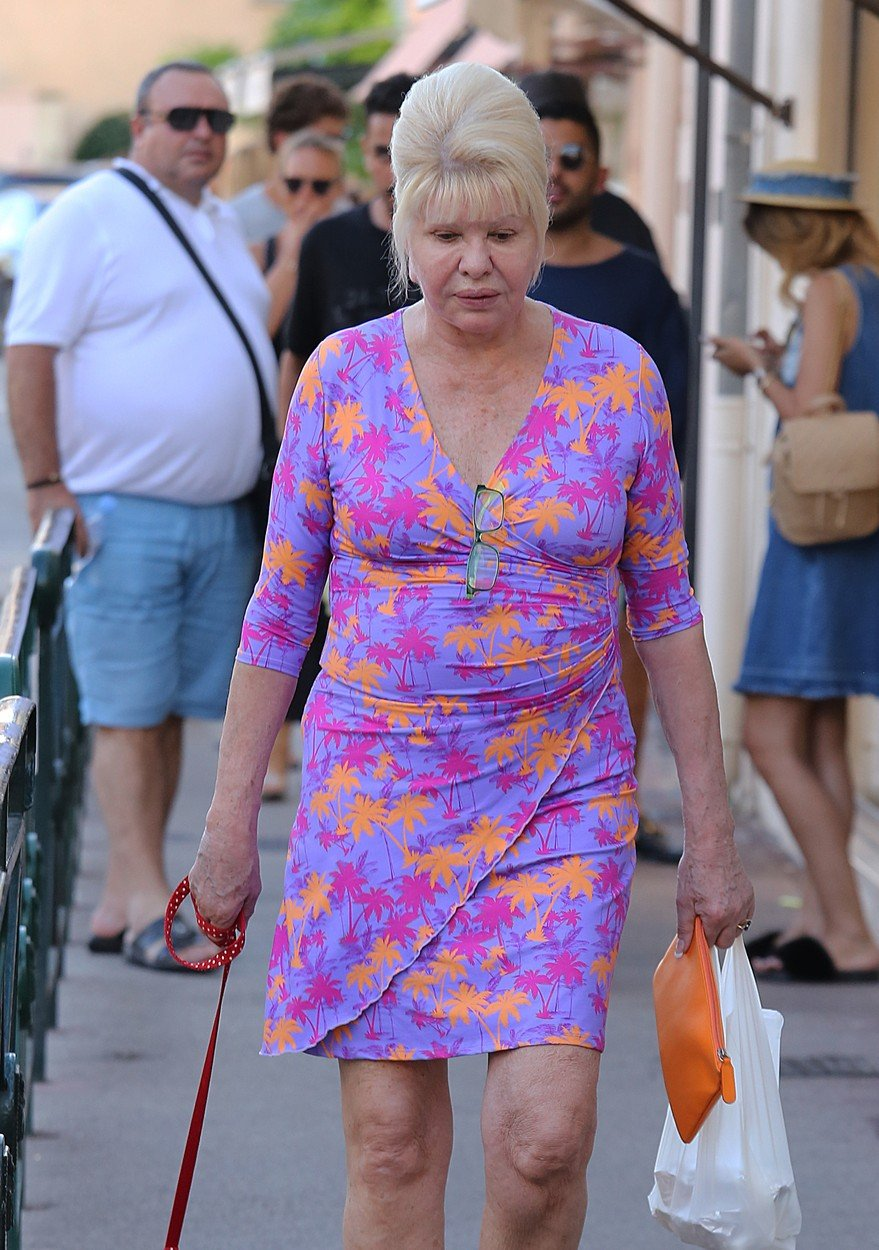 Ivana Trump on holiday in St Tropez, France on august 18th 2018, Image: 383076209, License: Rights-managed, Restrictions: , Model Release: no, Credit line: Profimedia, KCS Presse