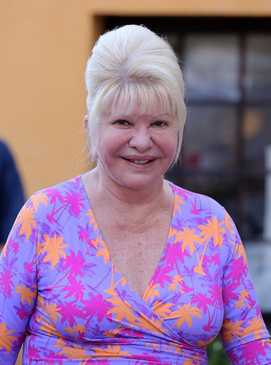 Ivana Trump on holiday in St Tropez, France on august 18th 2018, Image: 383076238, License: Rights-managed, Restrictions: , Model Release: no, Credit line: Profimedia, KCS Presse