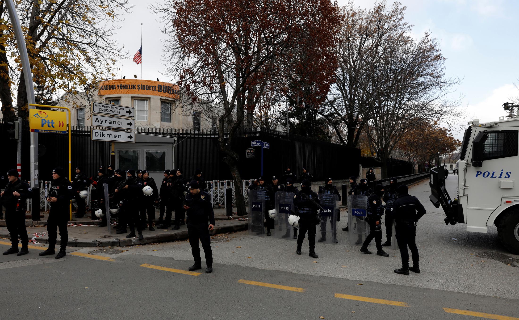 Ilustracija: Američka ambasada u Ankari