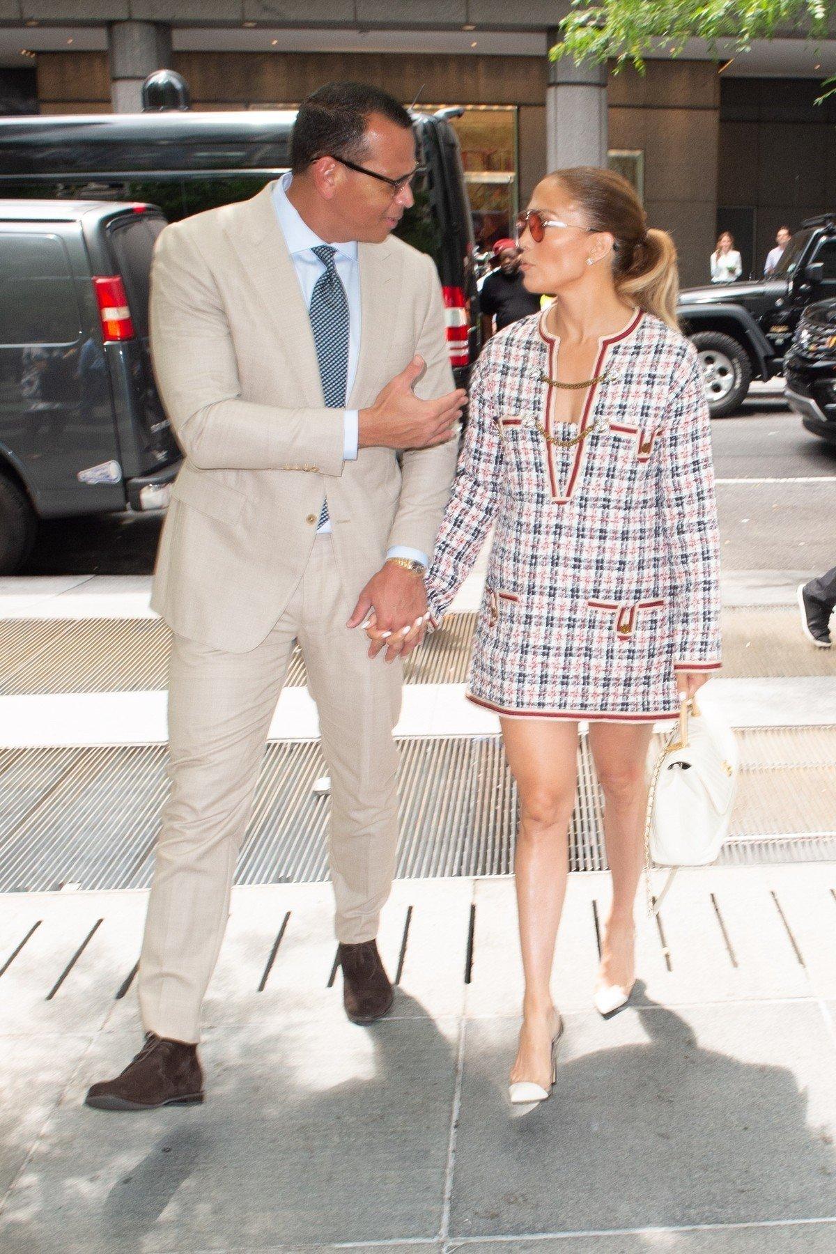 Jennifer Lopez and Alex Rodriguez idu na poslovni sastanak u New Yorku.