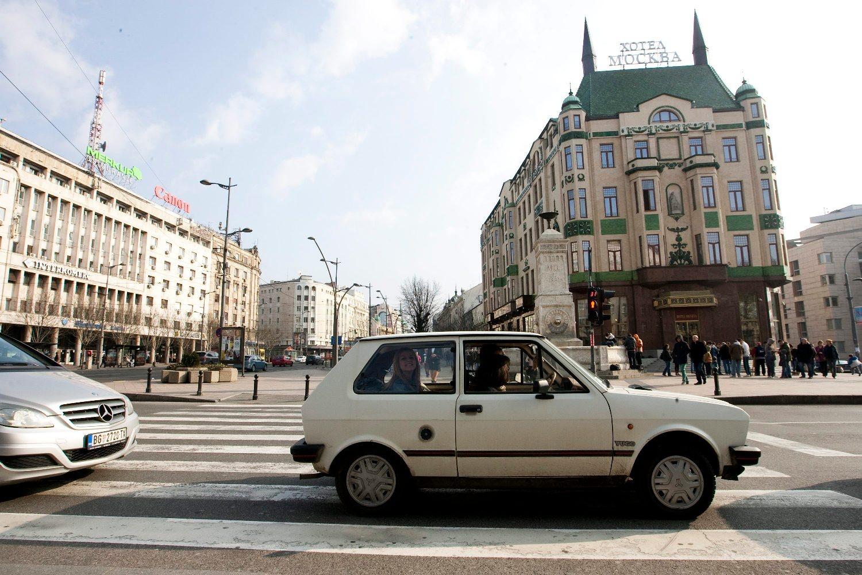 Hotel Moskva u centru Beograda