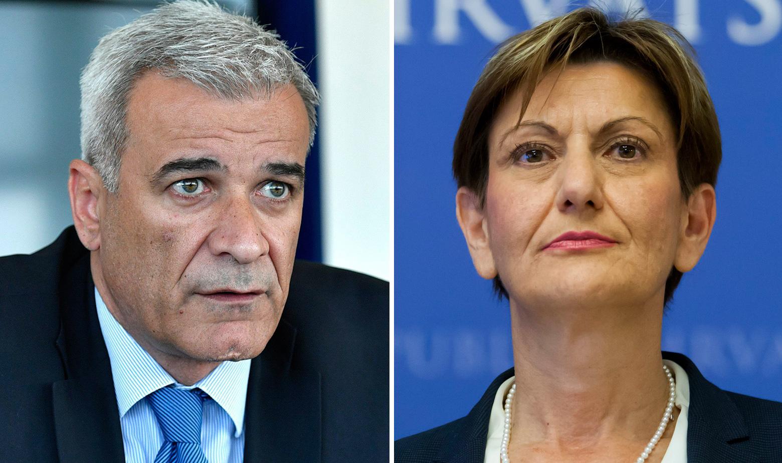 Ante Ramljak i Martina Dalić