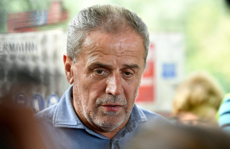 Na fotografiji: gradonačelnik Zagreba Milan Bandić