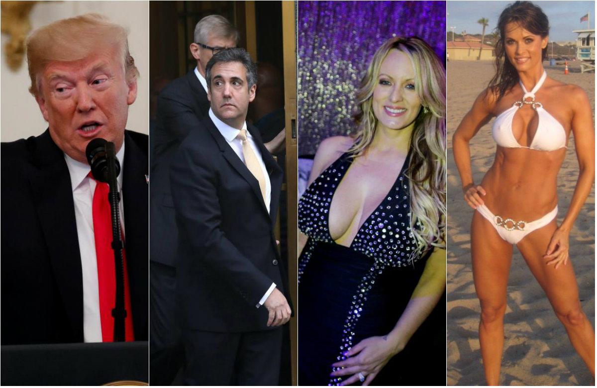 Donald Trump, Michael Cohen, Stormy Daniels, Karen McDougal