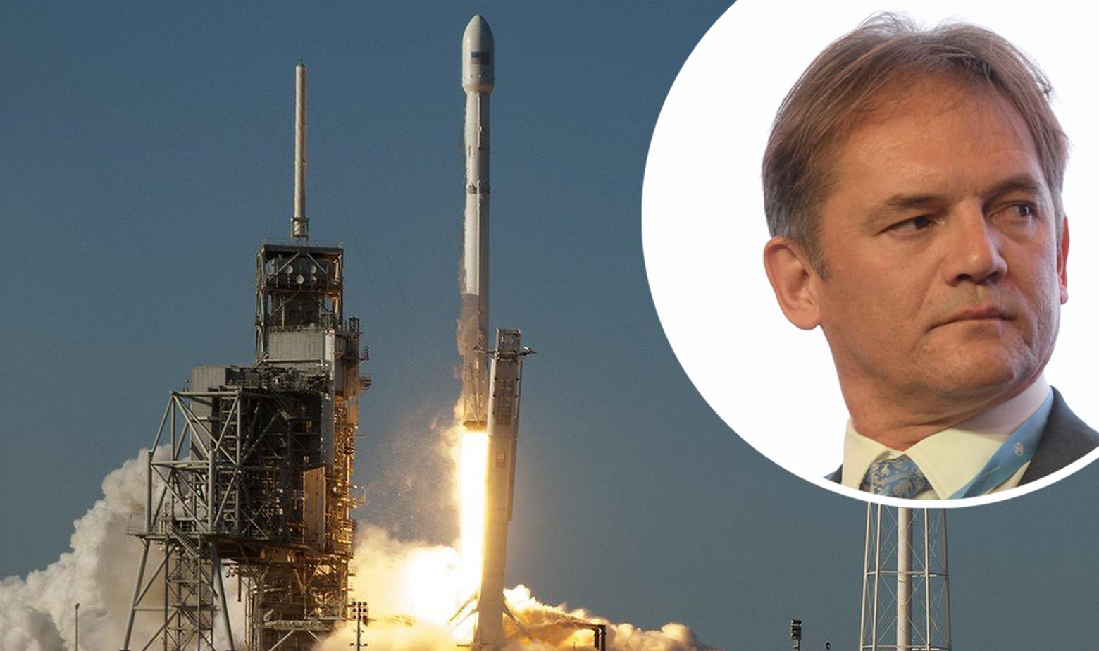 Lansiranje rakete Falcon 9 sa satelitom SES-a i Alen Kurešić u krugu