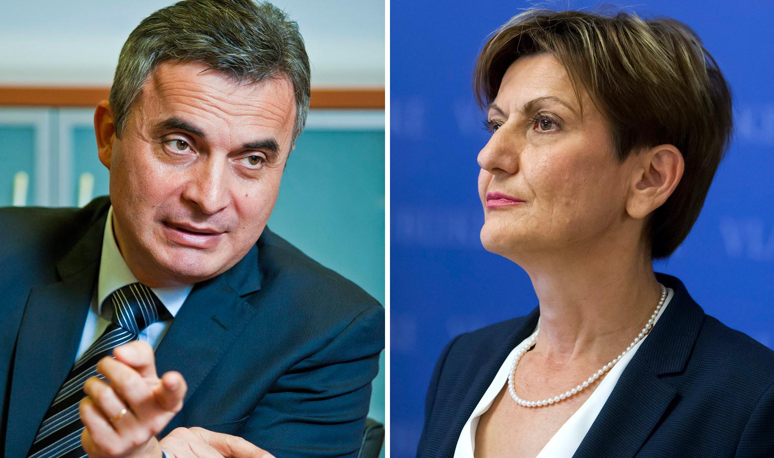 Ante Samodol i Martina Dalić