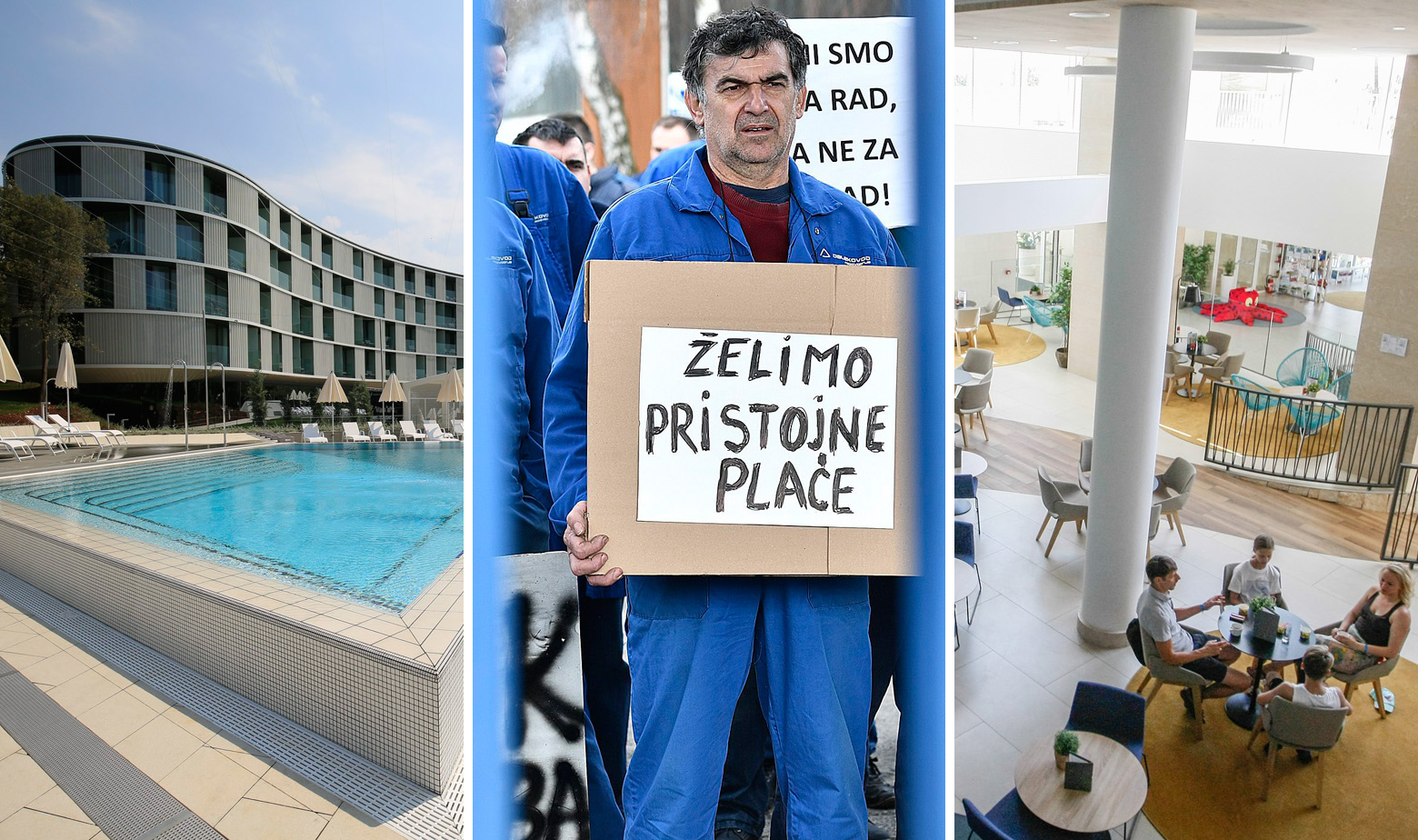 Maistrin hotel Amarin, štrajk radnika Dalekovod Proizvodnje i hotel Valamar Grupe
