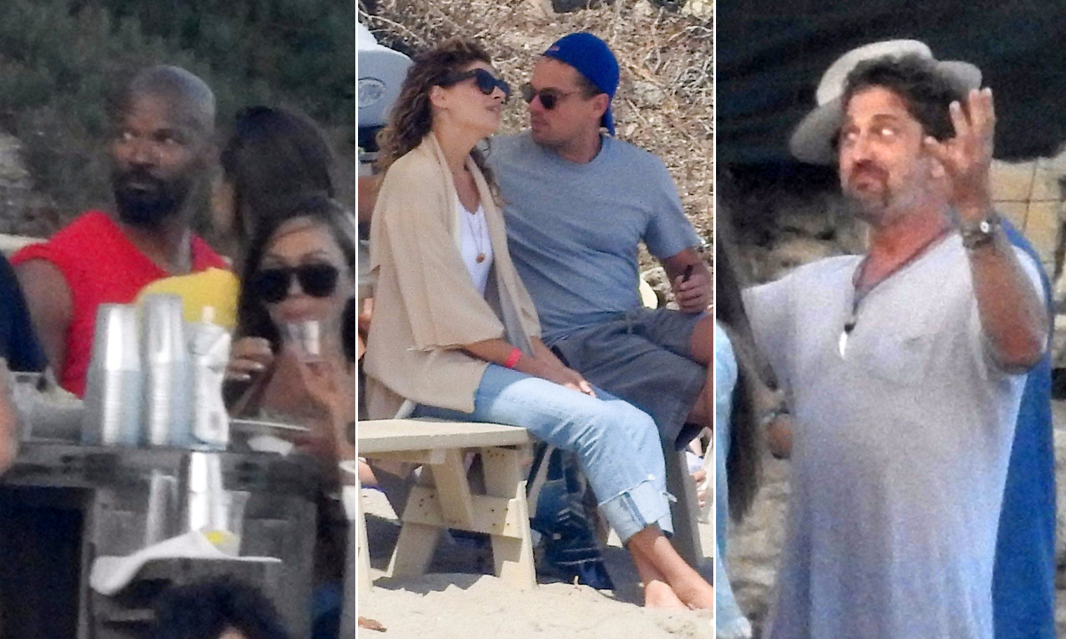 Jamie Foxf, Leonardo DiCaprio i Gerard Butler