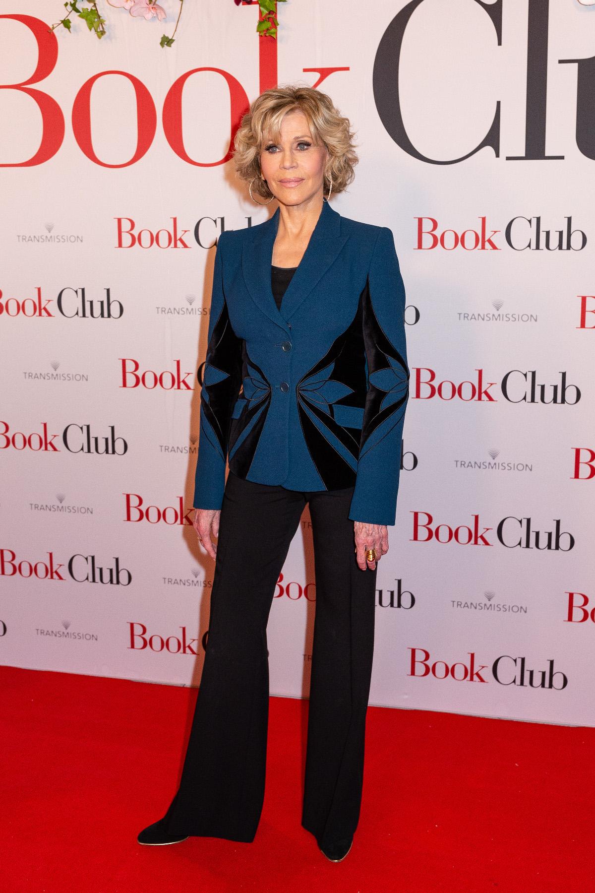 Jane Fonda na premijeri