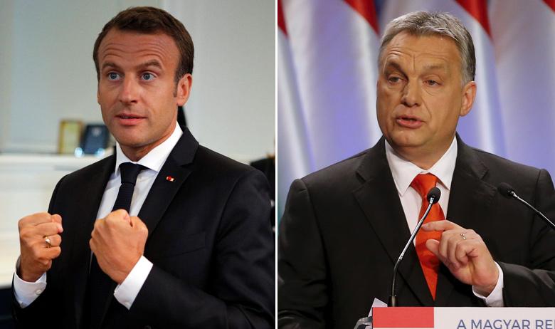 Emmanuel Macron i Viktor Orban