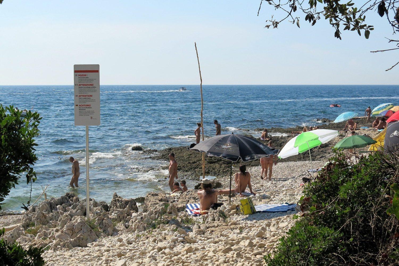 plaža Punta Križa u Rovinju