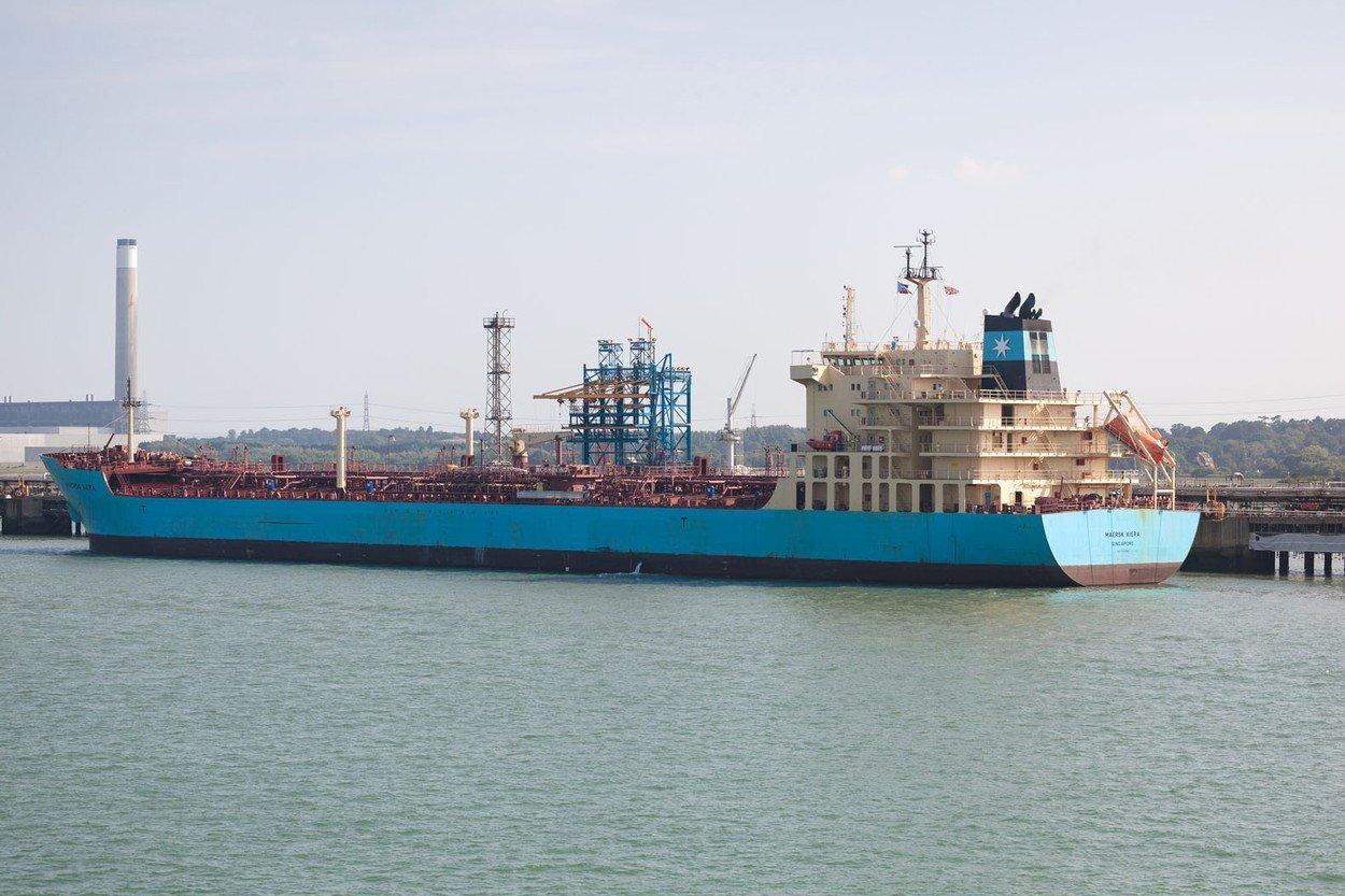 Ilustracija, brod Maersk Line