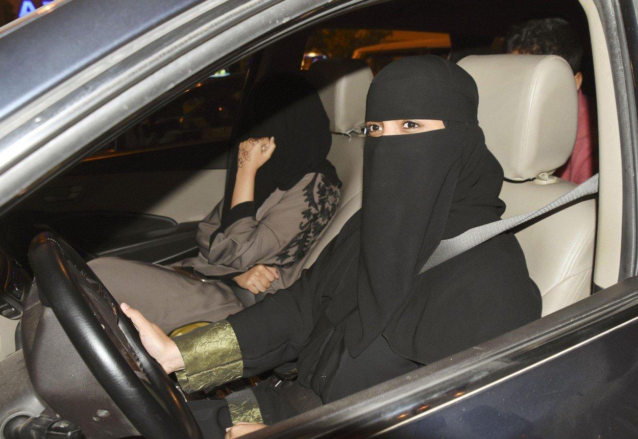 žena za volanom u Saudijskoj Arabiji