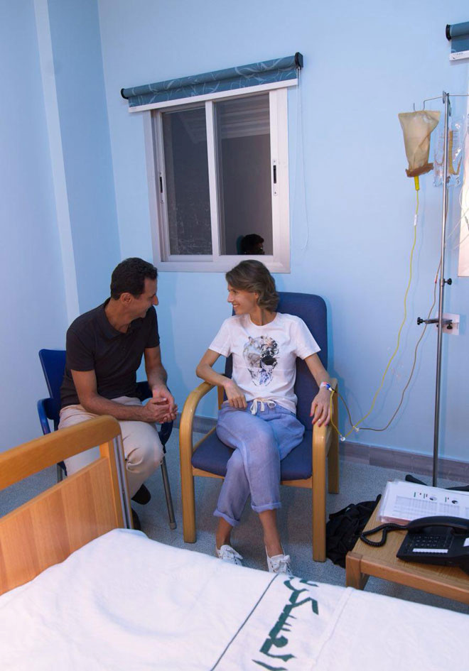 Bašar i Asma al-Asad
