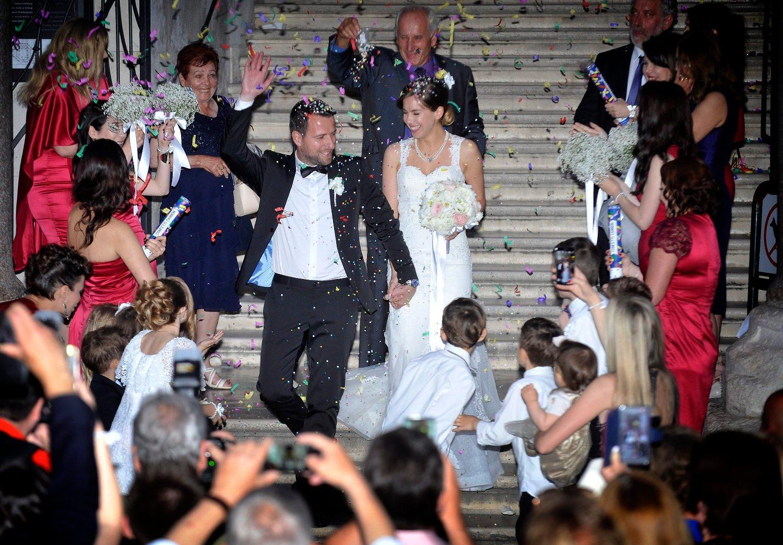 Davor Dragojević i Karmen Baničević vjenčali su se prije nešto više od dvije godine