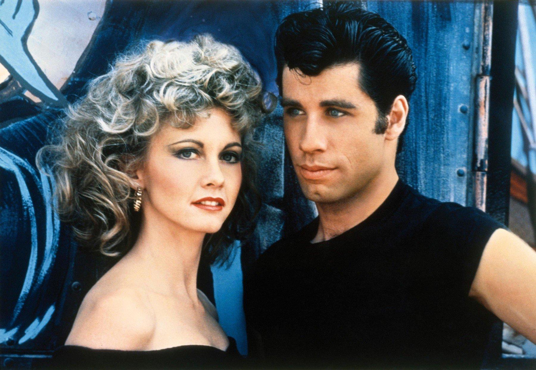 Olivia Newton-John i John Travolta u fimu 'Briljantin'