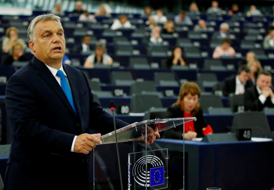 Mađarski premijer Viktor Orban u Europskom parlamentu