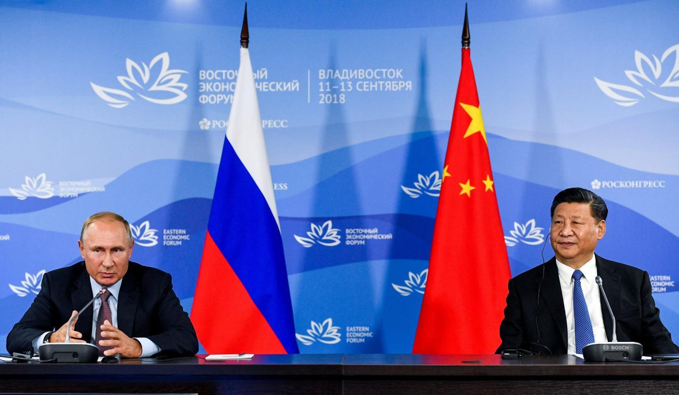 Ruski predsjednik Vladimir Putin i kineski predsjednik Xi Jinping