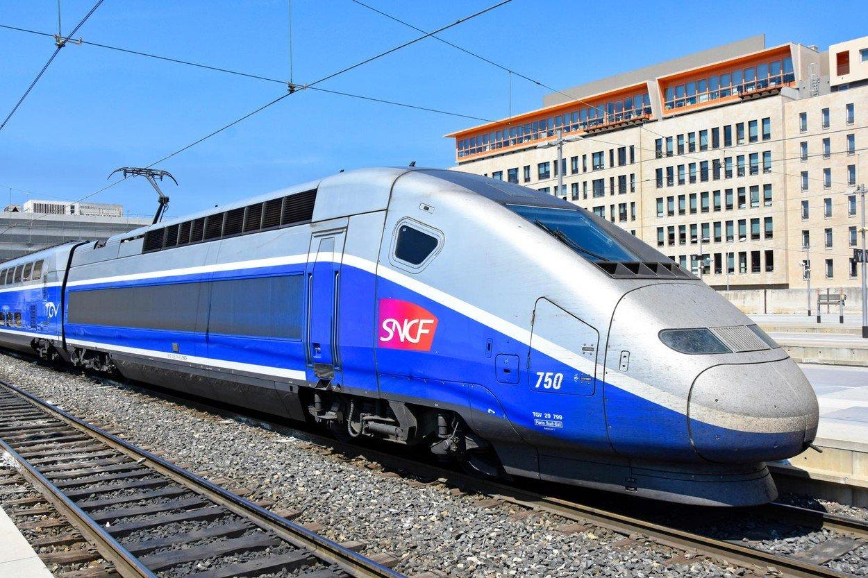 Ilustracija, SNCF TGV vlak