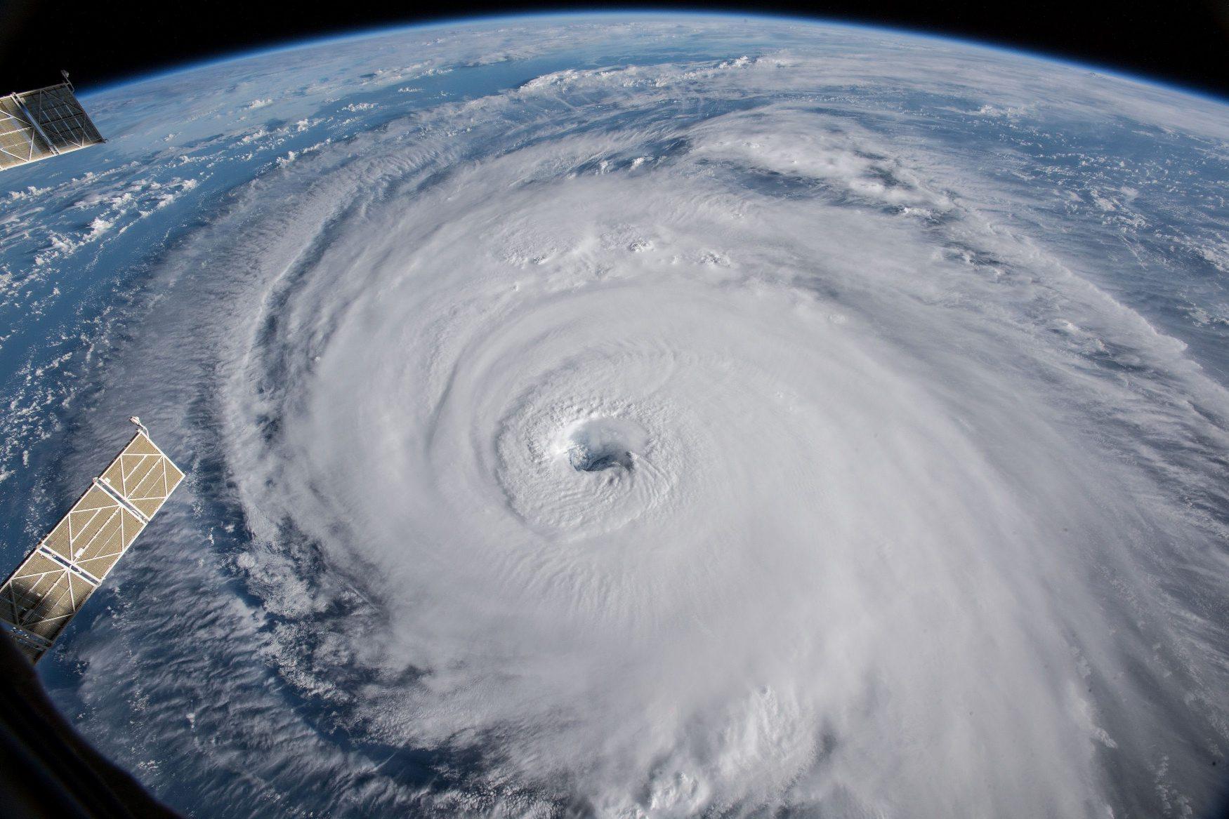 uragan Florence snimljen iz Međunarodne svemirske stanice