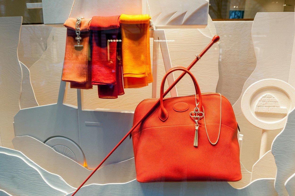 Hermes torba, ilustracija