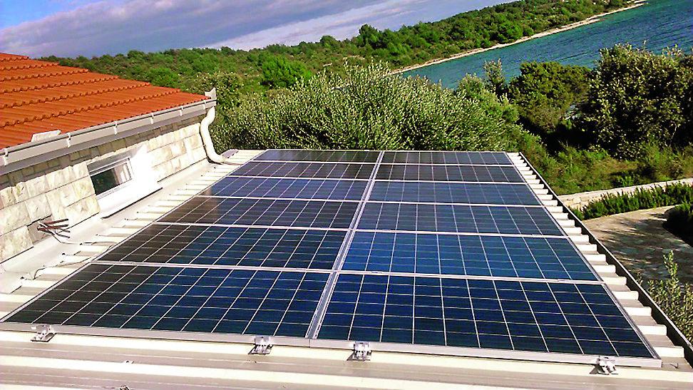 Solarni paneli na Čiovu