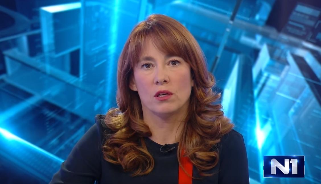 Maja Žeželj, voditeljica Dnevnika na N1 Srbija