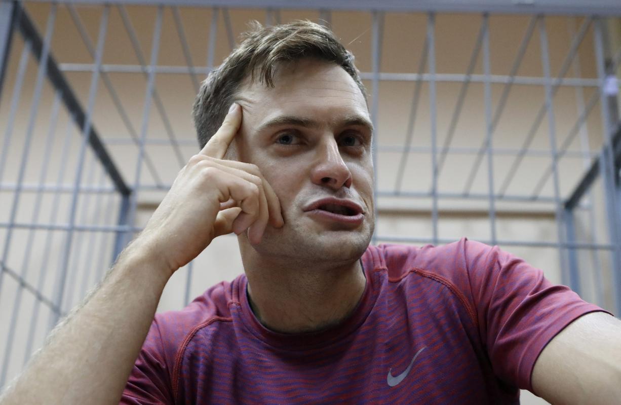 Petar Verzilov, istaknuti član ruske punk skupine Pussy Riot