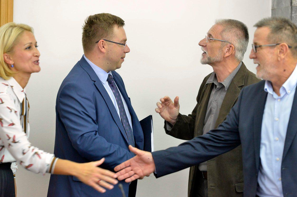 Marko Pavić i Krešimir Sever (prije godinu dana)