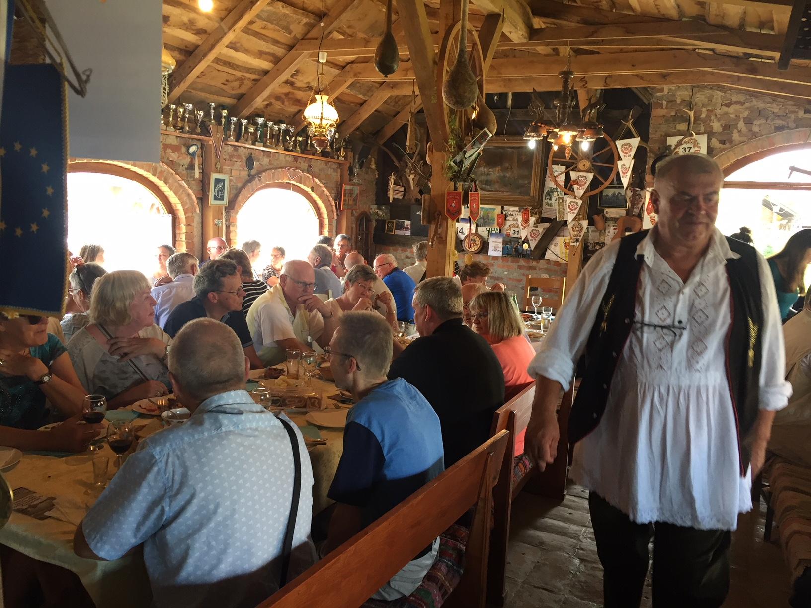Danski turisti na OPG-u Kereković
