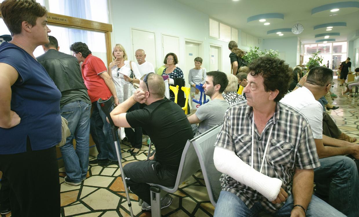Čekaonica u KBC Split, ilustrativna fotografija