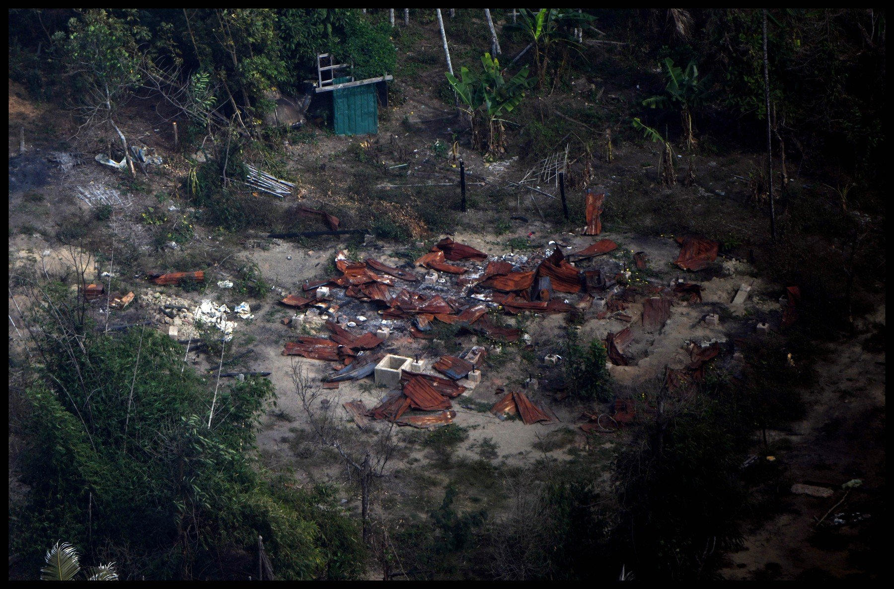 February 11, 2018 - Northern Rakhine, Northern Rakhine, United Kingdom - Northern Rakhine. Aerial pictures taken Febriury 11th 2018, of Burnt out and destroyed villages taken from a helicopter on route to  Pan Daw Pyin village, Maungdaw, Northern Rakhine. Rohingya  who have fled Burma to refugee camps in Bangladesh  on the Burma border near Cox's Bazar., Image: 362968873, License: Rights-managed, Restrictions: * China, France, Italy, Spain, Taiwan and UK Rights OUT *, Model Release: no, Credit line: Profimedia, Zuma Press - Archives